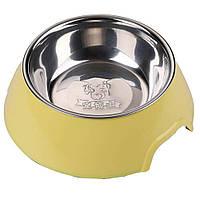 AnimAll миска для животных с металлической вставкой M, 300мл