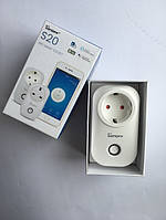 Умная Wi-Fi розетка SONOFF S20 с таймером и расписанием 10A Оригинал