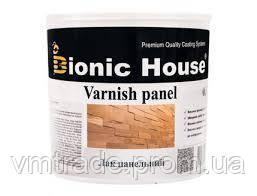 Лак панельный акриловый, на водной основе (Bionic House Varnish panel) 10 л