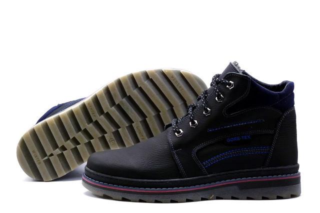 Мужские кожаные зимние ботинки Walker Seazone Blue Line