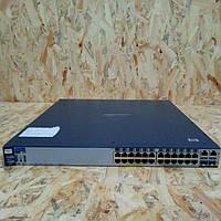 Мережевий комутатор HP Procurve Switch 2626-PWR ( J8164A ) 24 T-Port 10/100 Mbps + 2 Gig T-Portd, фото 1