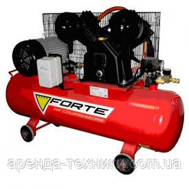 Аренда компрессора 100л. ресивер производитель Forte!