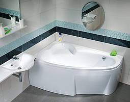 Ванна акриловая Ravak Asymmetric 150х100 левосторонняя
