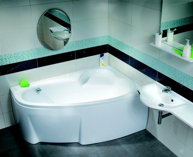 Ванна акриловая Ravak Asymmetric 150х100 правосторонняя