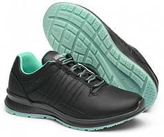 Жіночі черевики Grisport 42811 чорно-бірюзовий