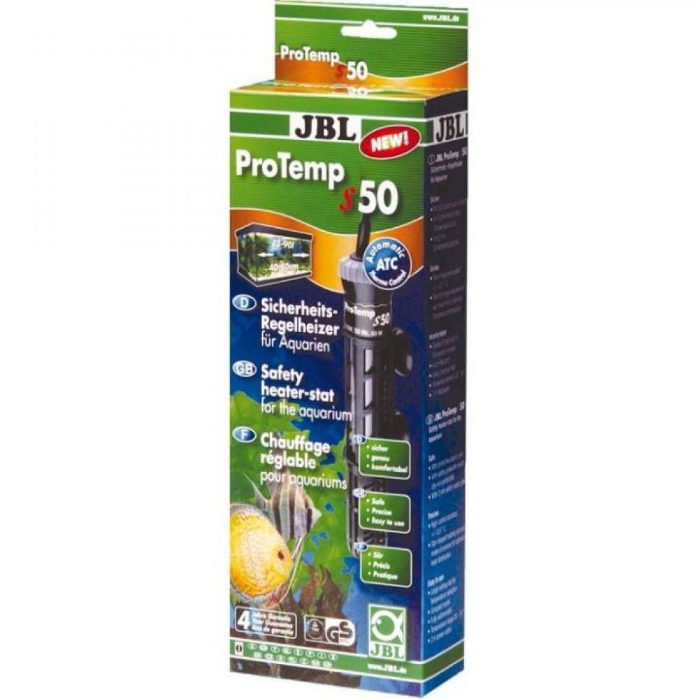 JBL (ДжБЛ) ProTemp S 50 аквариумный нагреватель, 50 Вт.
