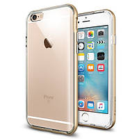 Чехол Spigen для iPhone 6s / 6 Neo Hybrid EX, Gold, фото 1