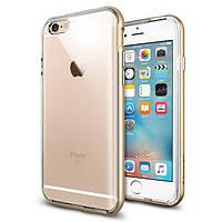 Чехол Spigen для iPhone 6s / 6 Neo Hybrid EX, Gold, фото 1