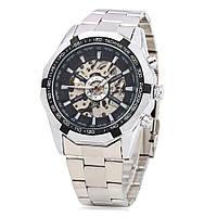 Стильные механические часы Winner Skeleton оригинал с автоподзаводом