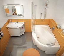 Ванна акриловая Ravak Rosa 95 160х95 левосторонняя, фото 2