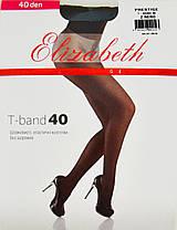 Колготки Elizabeth Prestige 40 den t-band Nero р.4 (00316) | 5 шт., фото 2