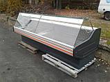 Холодильна вітрина Cold б/у, гастрономічна вітрина б, прилавок холодильний, б/в, фото 2