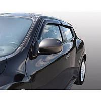Azard Дефлекторы окон на Nissan Juke '10- (ПК, накладные)