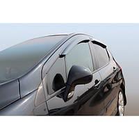 Azard Дефлекторы окон на Peugeot 308 I '07-13 (ПК, накладные)