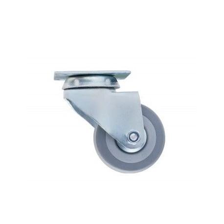 Ролик Sigma d-50 на мет. платформе резиновый с подшипником