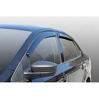 Azard Дефлекторы окон на Volkswagen Polo V '09- седан (ПК, накладные)