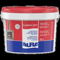Моющаяся краска для стен и потолка Aura Luxpro Extramatt 10 л