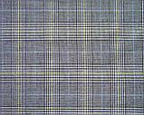 Коттон костюмный в клетку (3701), фото 2