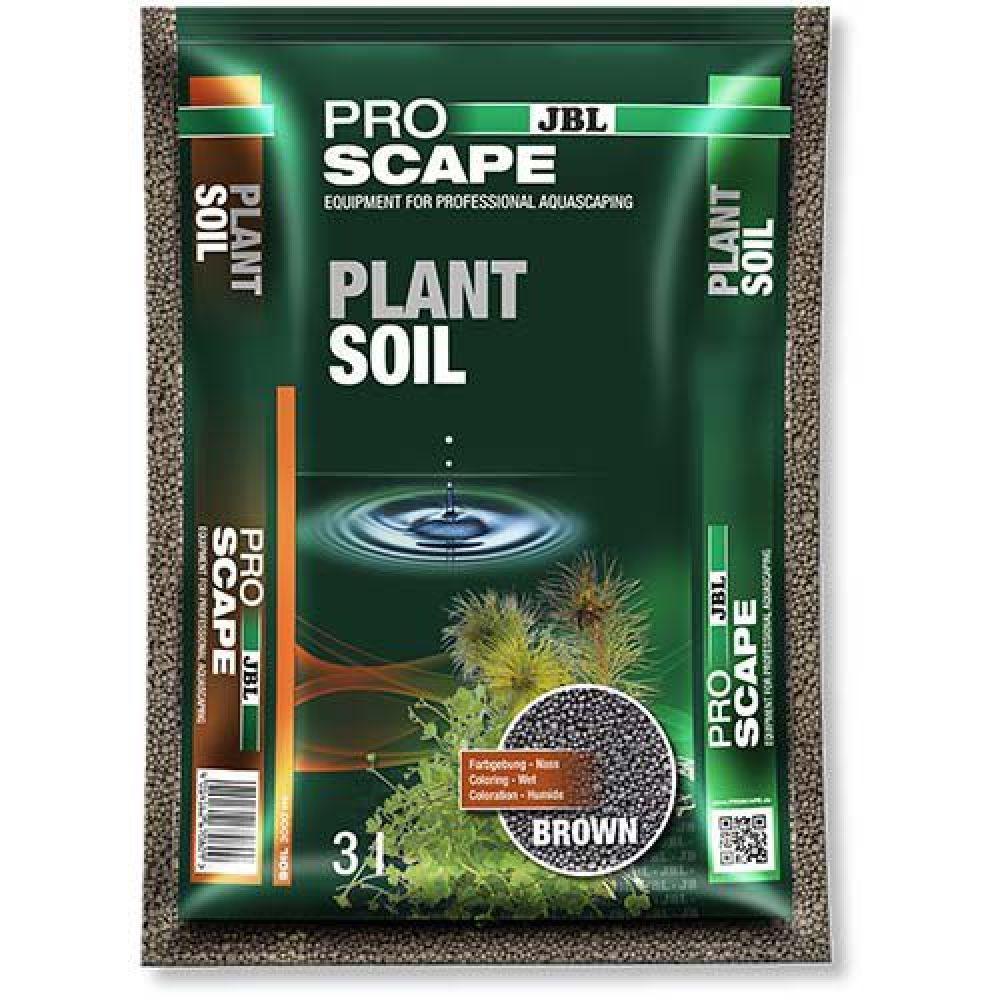 JBL (ДжБЛ) ProScape PlantSoil BROWN питательный грунт для растений, коричневый, 3 л.