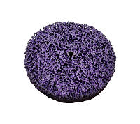 Зачистной круг Polystar Abrasive 100х10 мм.без основы фиолетовый (жесткий)