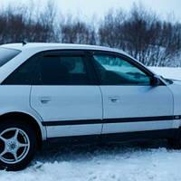 COBRA TUNING Дефлекторы окон на Audi 100 C4/4A '90-94 (накладные)