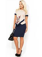 Модный костюм двойка блузка и юбка КТ-323, фото 1