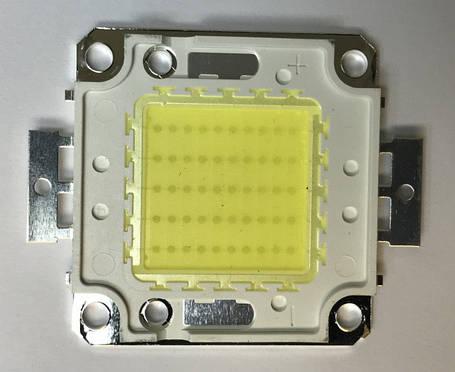 Светодиод матричный СОВ для прожектора SL-50 50W 6500К Код.58540, фото 2