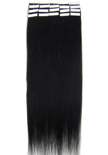 Волосы на лентах 60 см. Цвет #01 Черный, фото 1