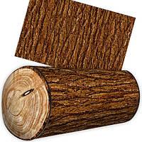 Подушка валик в виде бревна ясеня