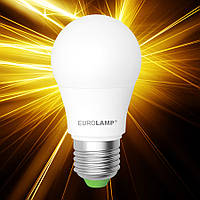 Светодиодная лампа EUROLAMP ЕКО А50 7W E27