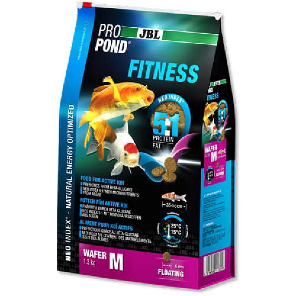 JBL (ДжБЛ) ProPond Fitness корм для стерляди и осетровых M, 1.3кг.