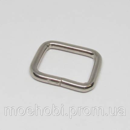Рамки для сумок (20мм) никель,  4141, фото 2