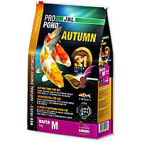 JBL (ДжБЛ) ProPond Autumn корм для карпов Кои осенний M, 3.0кг.