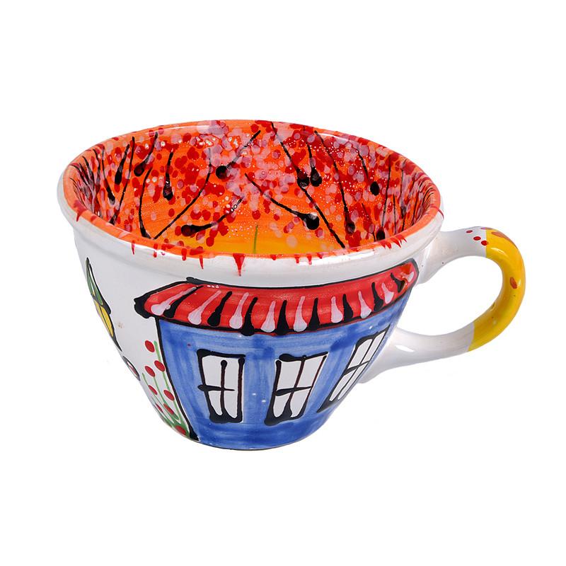 Чашка керамическая Львовская керамика 500 мл (202), фото 1