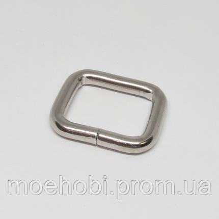 Рамки для сумок (20мм) никель,  414120, фото 2