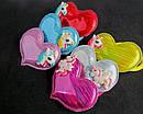 Детские резинки для волос Единороги голограмма 12 шт/уп, фото 2