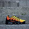 "Мужские кроссовки Nike Air Max Tn Plus ""Orange/Black"" (Найк) оранжевые, фото 2"