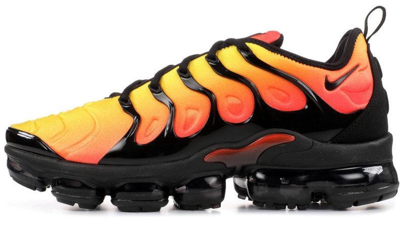 "Мужские кроссовки Nike Air Max Tn Plus ""Orange/Black"" (Найк) оранжевые"