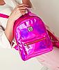 Рюкзак женский голографический в стиле Givenchy Розовый, фото 2