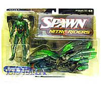 McFarlane Toys Spawn Nitroriders Green Vapor, Спаун Нитрорайдерс, фото 1