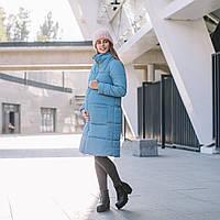 Слингокуртка Love&carry (Лав энд керри) Блу, голубая, зима 2019, фото 1