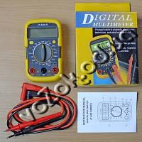Мультиметр универсальный цифровой противоударный с подсветкой тестер Digital Multimeter UK-830LN, фото 1