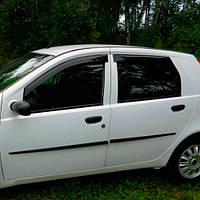 COBRA TUNING Дефлекторы окон на Fiat Punto II '99-03 хэтчбек 5d (накладные)