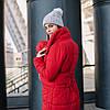Слингокуртка Love&carry (Лав энд керри) Ред, красная, зима 2019