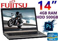 "Бизнес Ноутбук Fujitsu LIFEBOOK E743 14"" i5 2x2.6GHz 4GB RAM 500GB"