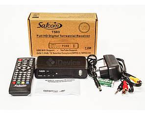 Тюнер T2 Satcom T503 2 USB, Wi-Fi, фото 2
