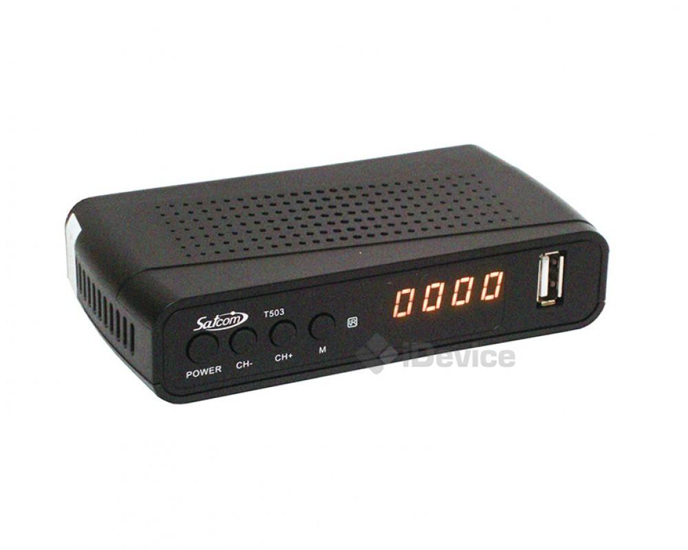 Тюнер T2 Satcom T503 2 USB, Wi-Fi