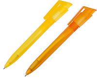 Ручка пластиковая прозрачная матовая FIRE, фото 1