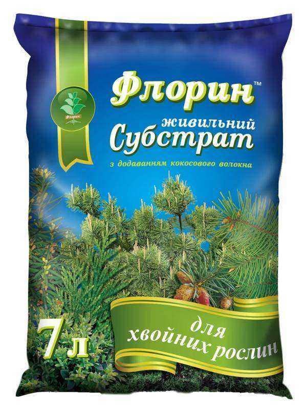 """Субстрат """"Хвоя"""" - Флорин, ТД Киссон - 7 литров"""