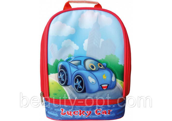 """Рюкзак дошкольный 10"""", """"Lucky Car"""" 305"""